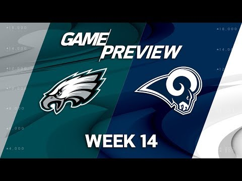 Philadelphia Eagles vs. Los Angeles Rams | NFL Week 14 Game Preview | Move the Sticks