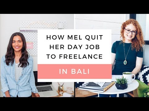 How Mel Moved From LA  To Work In Bali | Her TOP tips for working abroad