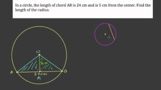 Find the radius given a chord Mp3