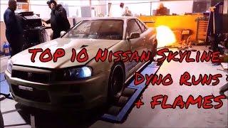Top 10 Nissan Skyline Dyno Runs thumbnail