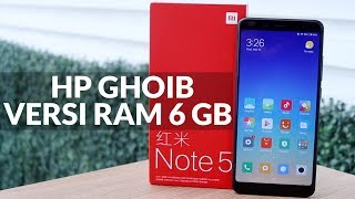 Edisi Sultan, Review Xiaomi Redmi Note 5 RAM 6GB #PricebookBagiTHR