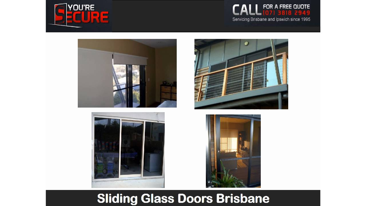 Sliding Glass Doors Brisbane Youtube