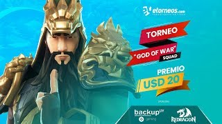 "!! TORNEO GRATUITO FORTNITE ""GOD OF WAR"""