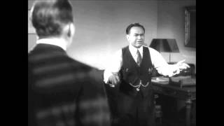 Suicide Monologue--Edward G. Robinson--Double Indemnity