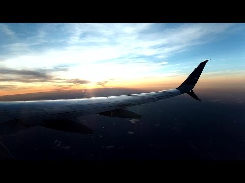 United Airlines Flight From Newark New Jersey