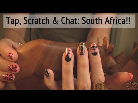 ASMR * Theme: Travel to South Africa * Tapping & Scratching * Soft Spoken * ASMRVilla
