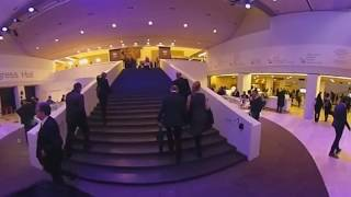 360° panorama video: World Economic Forum 2018 in Davos