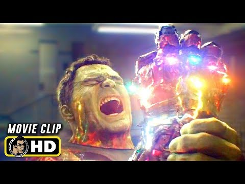 AVENGERS: ENDGAME (2019) Clip - Hulk Snaps the Iron Gauntlet [HD]