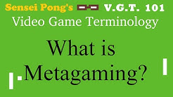 What Does Meta, Metagame, and Metagaming Mean? - Video Game Terminology 101