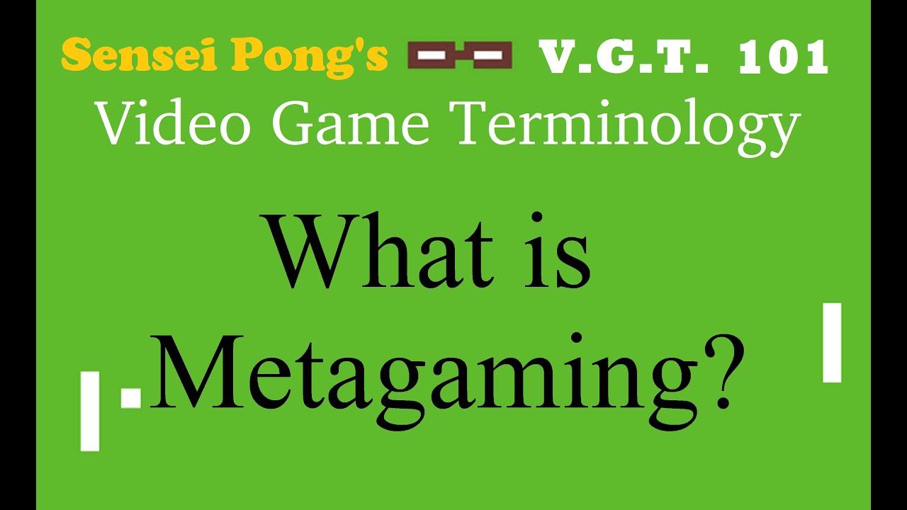 Meta Bedeutung Gaming