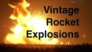 A Vintage Space Take on the Antares Launch Explosion