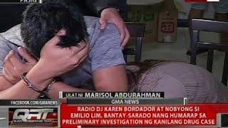 Gambar cover Karen Bordador at nobyong si Emilio Lim, bantay-sarado nang humarap sa preliminary investigation