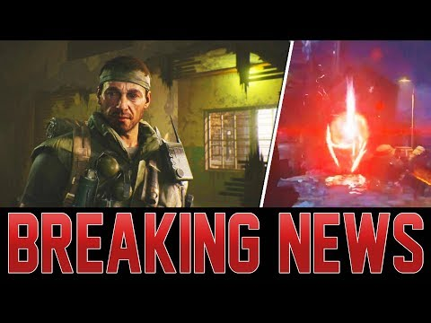 BO4 CUTSCENE IN VERRUCKT! MAIN EASTER EGG UPDATES FROM TREYARCH! (Black Ops 4 Zombies)