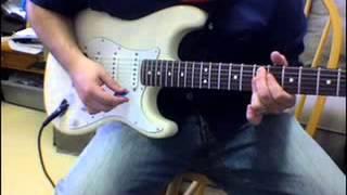Intermediate FUNKY Wah Wah guitar lesson