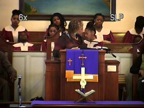 Minster Sandra Butler Preaching