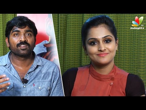 Vijay Sethupathi wants to become a villain | Remya Nambeesan, Arun Kumar Interview | Sethupathi