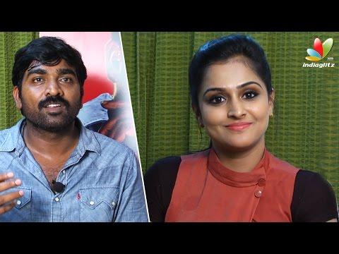Vijay Sethupathi wants to become a villain | Remya Nambeesan, Arun Kumar Interview | Sethupathi