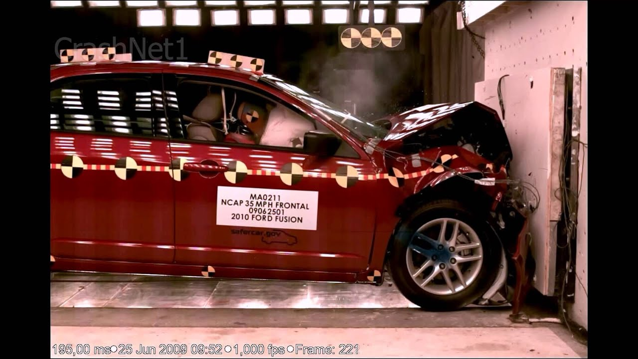 Ford Fusion 2010 Frontal Crash Test Nhtsa Crashnet1