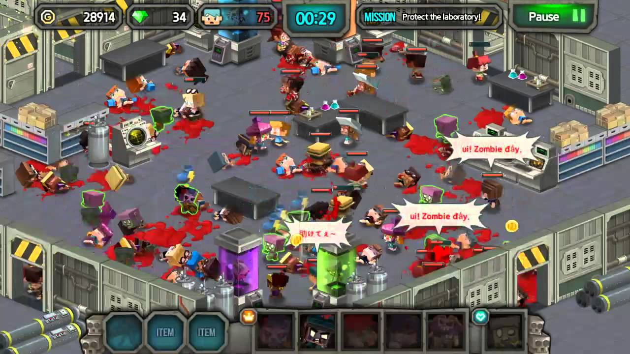 The Zombie Virus Is Spreading Download The Game From
