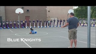 2018 Blue Knights Hornline Warmup | Send Off Show