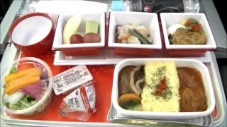 JAPAN AIRLINES - JAL407 Narita-Frankfurt Premium Economy Class