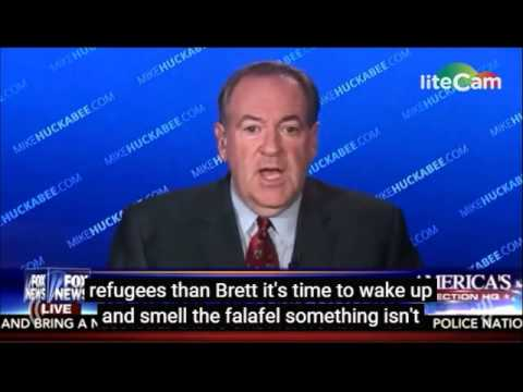 "Huckabee: ""It's time to wake up and smell the falafel"""