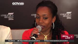 CCTV : Ethiopian World Record Holders Almaz Ayana, Genzebe Dibaba on Their Plans for 2017