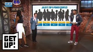 Jalen Rose ranks the top 5 power couples in sports | Get Up! | ESPN