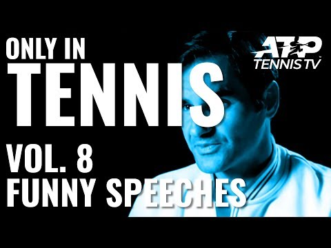 Funny Interviews, Press Conferences & Speeches 🎙️😂: ONLY IN TENNIS Vol. 8