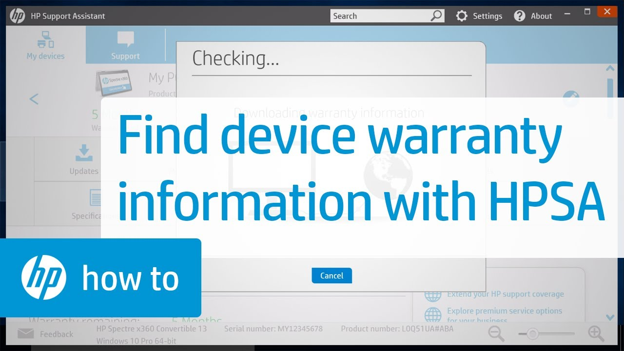 Warranty Information For Your HP Device | HP Support Assistant | HP