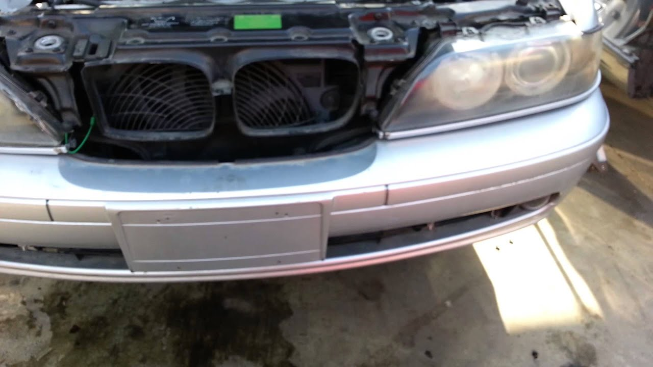 bmw e39 5 series front bumper cover removal 525i 530i 528i youtube rh youtube com Hydropower Dam Hydroelectric Power Dams