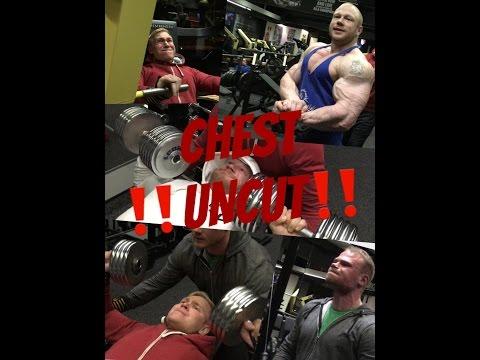**UNCUT** Chest workout 14.3.2017