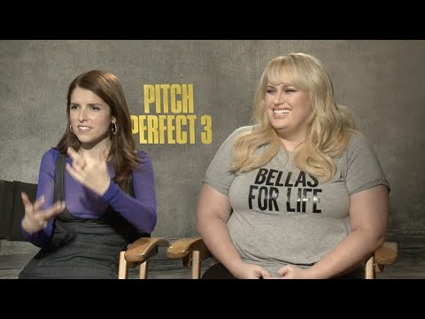 Pitch Perfect 3 cast interviews