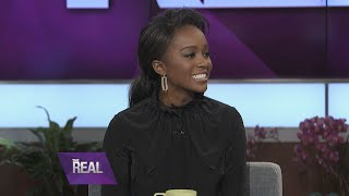 aja naomi king on her life changing call from angela bassett