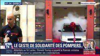 Ces pompiers de Lyon ont offert une voiture à leur agent d'entretien, victime d'une arnaque