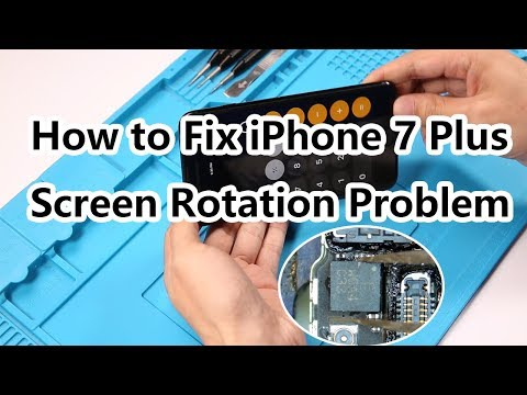 How to Fix iPhone 7 Plus Screen Rotation Problem/Gyroscope Not Working