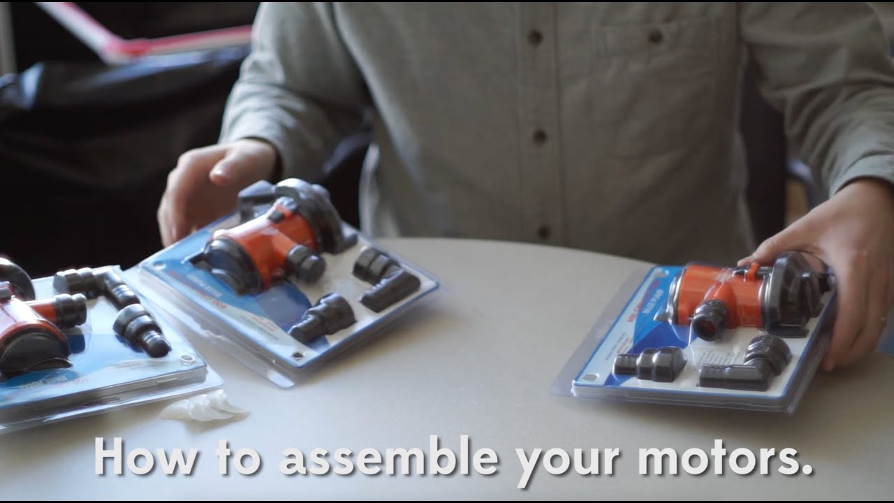ROV Motor Assembly Tutorial