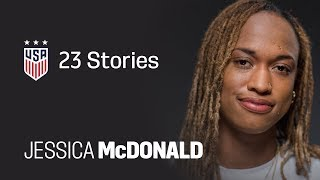 One Nation. One Team. 23 Stories: Jess McDonald