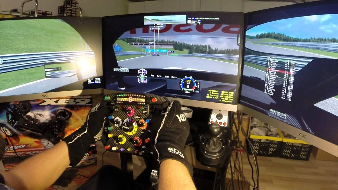 Rfactor Dtm 2013 Red Bull Ring Triple Screen Rig And Roso