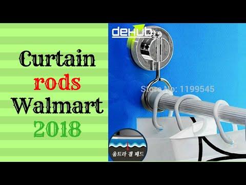 Curtain rods walmart