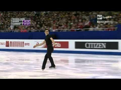 2015 Figure Skating World Champs Shanghai - men - SP - Javier FERNANDEZ