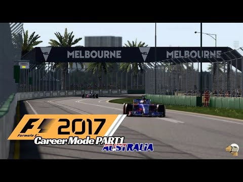 2017 Australia Grand Prix Race -  F1 2017 Career Part 1 - The Kvyat nightmare