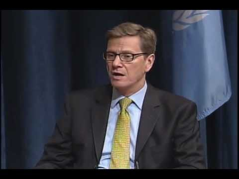 Press Conference with Guido Westerwelle and Nabil Elaraby, Secretary-General of the Arab League