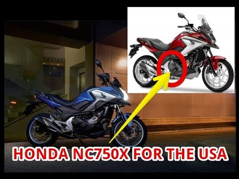 2018 honda nc750x for the usa youtube. Black Bedroom Furniture Sets. Home Design Ideas