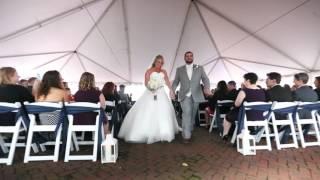 Laura & Jk wedding Yorktown VA highlight video