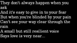 When You Believe - Whitney Housten [ft. Mariah Carey] w/ lyrics