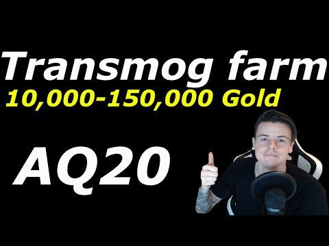 WoW: AQ20 Transmogfarm 10,000 - 150,000 Gold | Glorious Legplates & Vanguard Legplates |