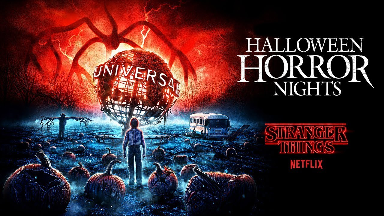 Universal Studios Singapore Halloween Horror Nights 2019.Stranger Things House Reveal Halloween Horror Nights 2019