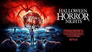 Stranger Things House Reveal | Halloween Horror Nights 2019