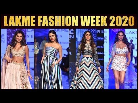 Lakme Fashion Week 2020: Shraddha,Tara, Alaya F, Isabelle Kaif, Athiya Shetty BEAUTIFUL Rampwalk